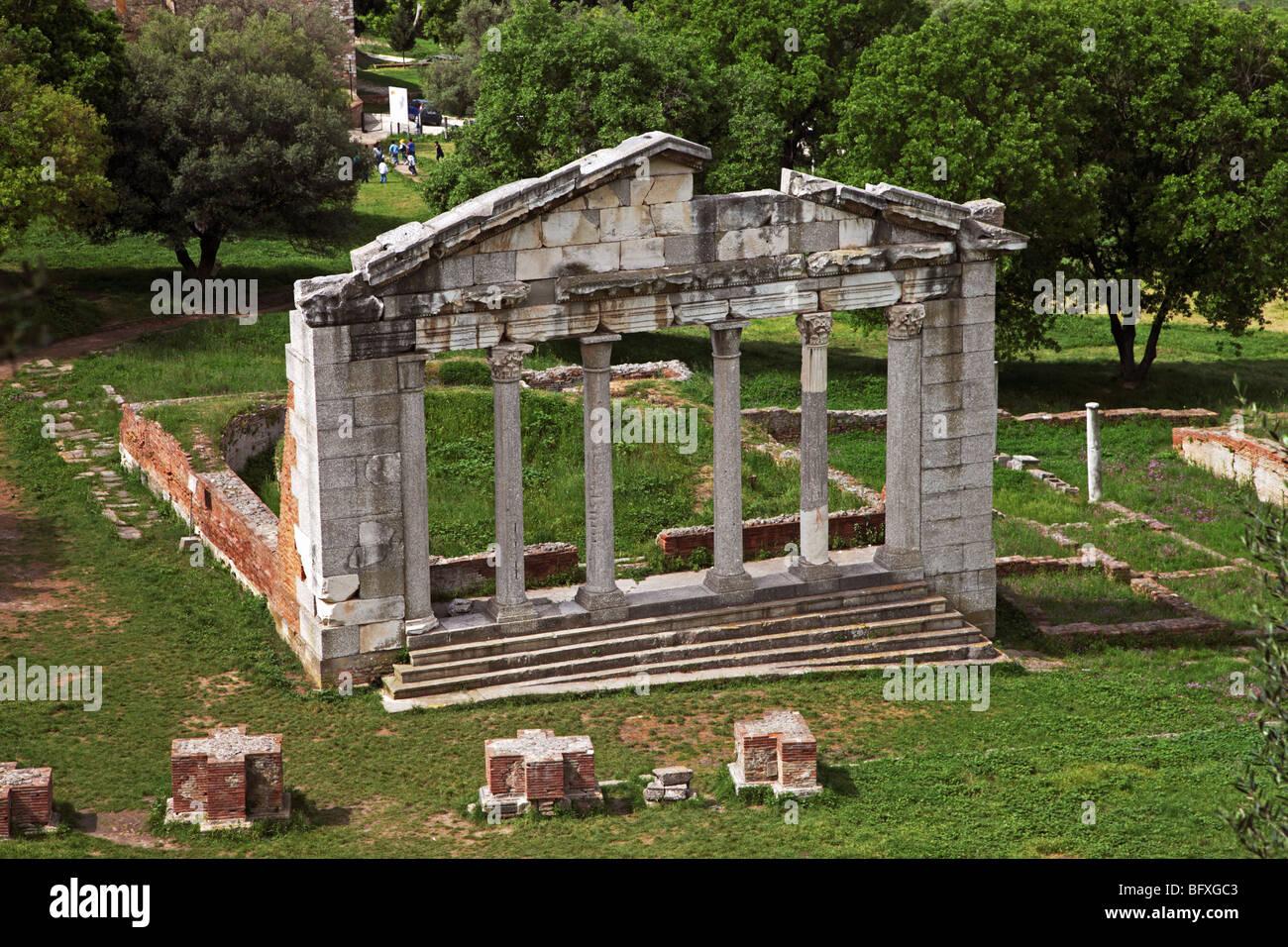 Ancient Greek ruins of Apollonia, Albania - Stock Image