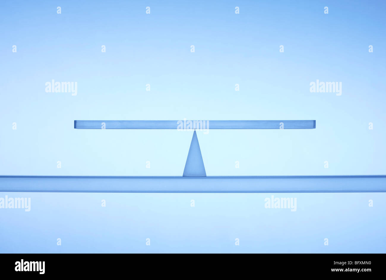 Transparent balance - Stock Image