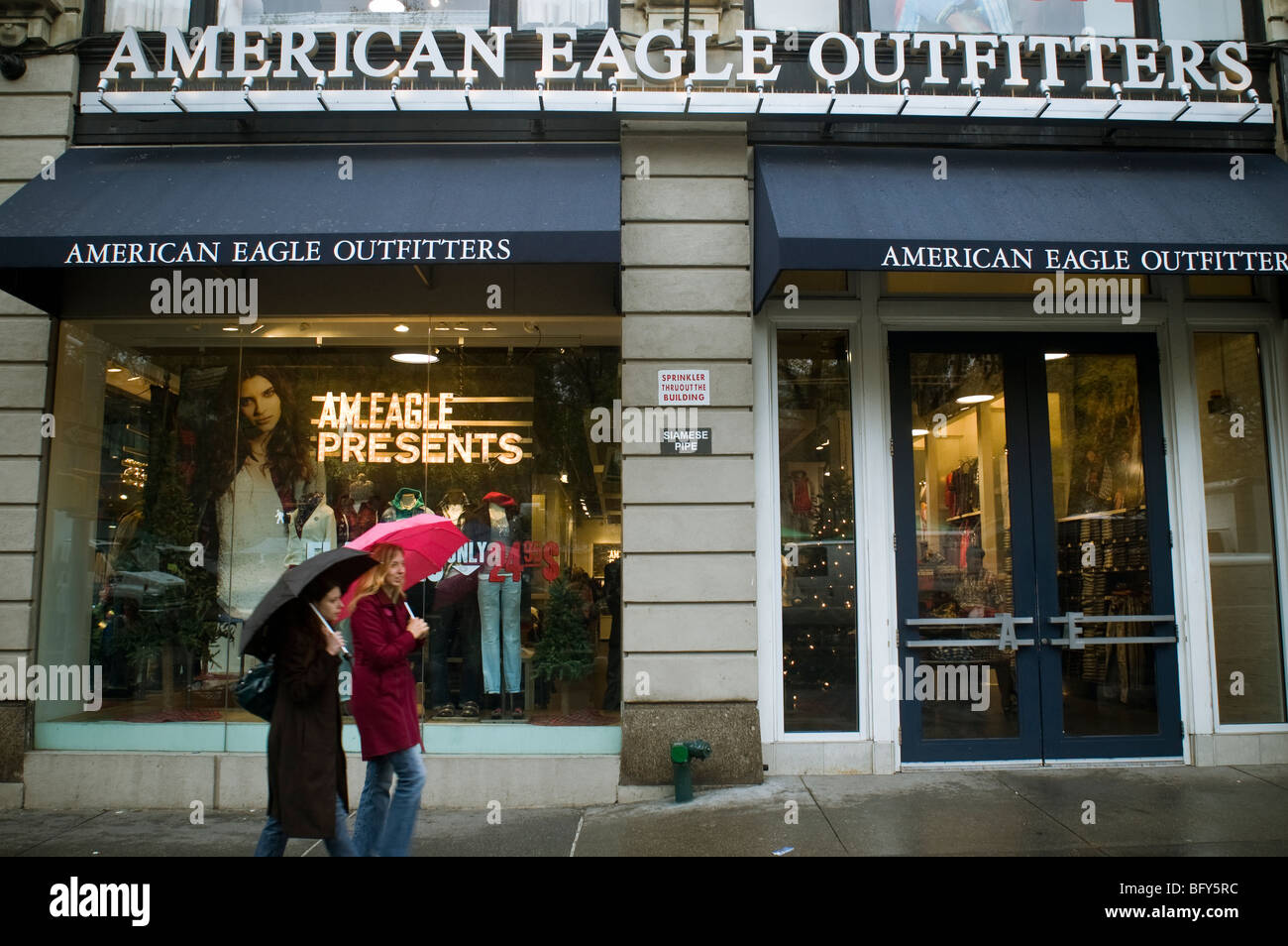 An American Eagle Outfitters Store In Union Square New York On Saturday November 14