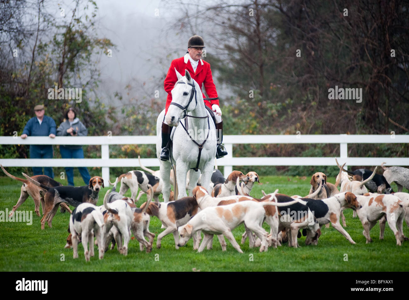 Fox Hunting, Blessing of the Hounds , Elkridge Harford Hunt