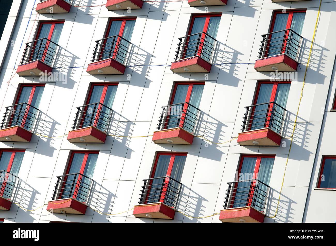 apartment building, Bole addis ababa ethiopia Stock Photo: 27043235 ...