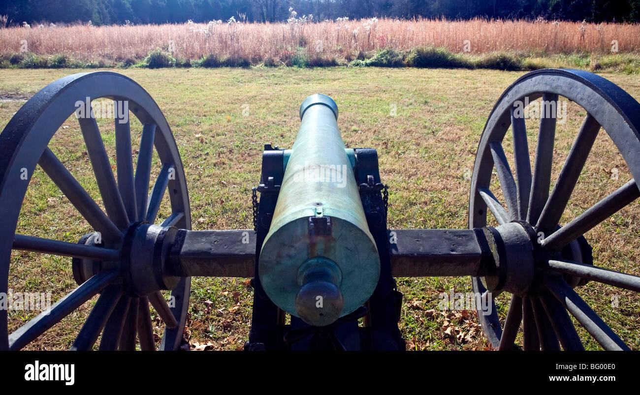 Stones River National Battlefield - Murfreesboro, Tennessee. - Stock Image