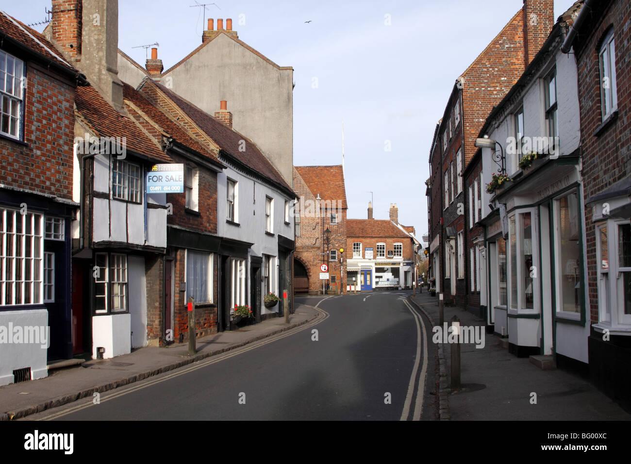 Couching Street Watlington Oxfordshire - Stock Image