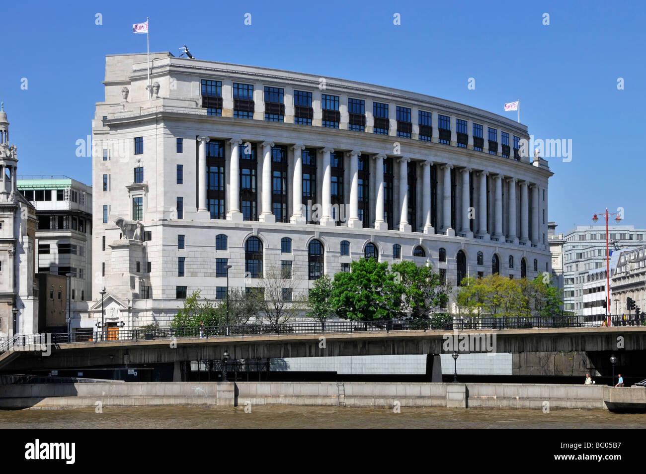 Unilever House headquarters building Blackfriars City of London England UK - Stock Image