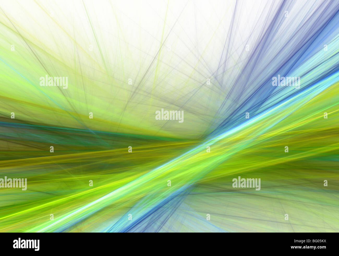Abstract fractal lines wallpaper illustration - Stock Image