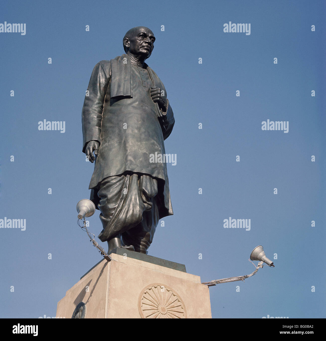 Monument to Vallabhbhai Patel, a leader who played a major role in India's struggle for independence, New Delhi, - Stock Image
