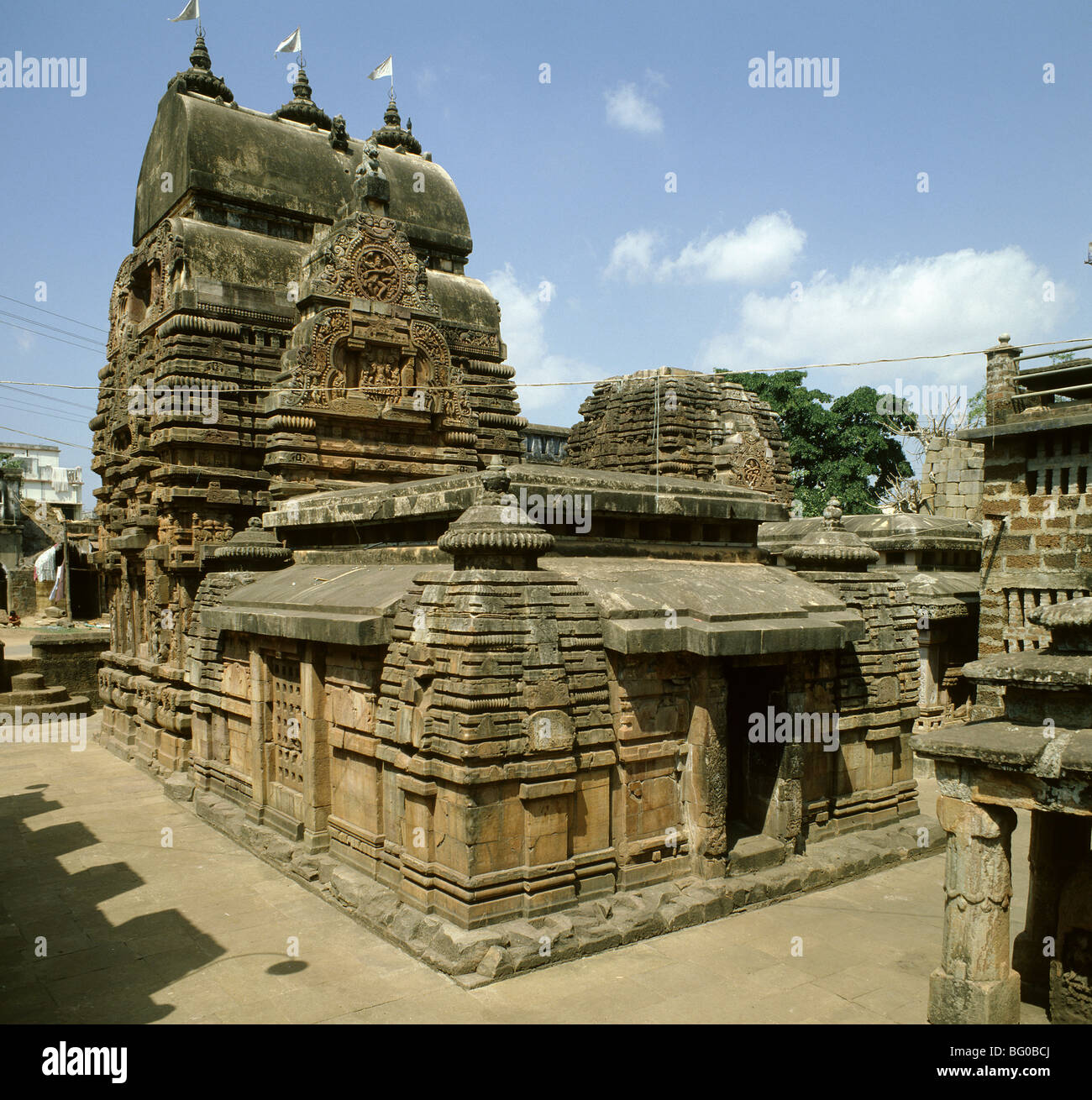 Vital Deul Temple at Bhubaneshwar, Orissa, India, Asia - Stock Image