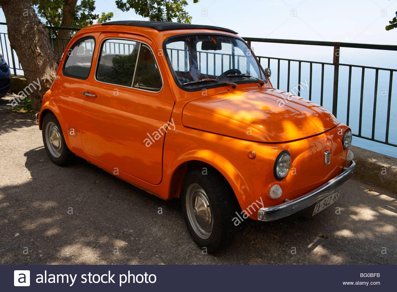 Fiat 500, Italy - Stock Image