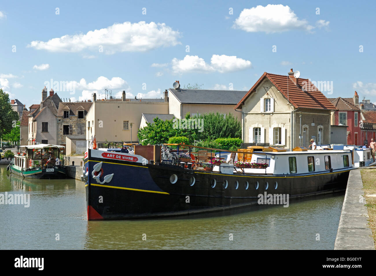 Canal Boat Art Stock Photos Amp Canal Boat Art Stock Images
