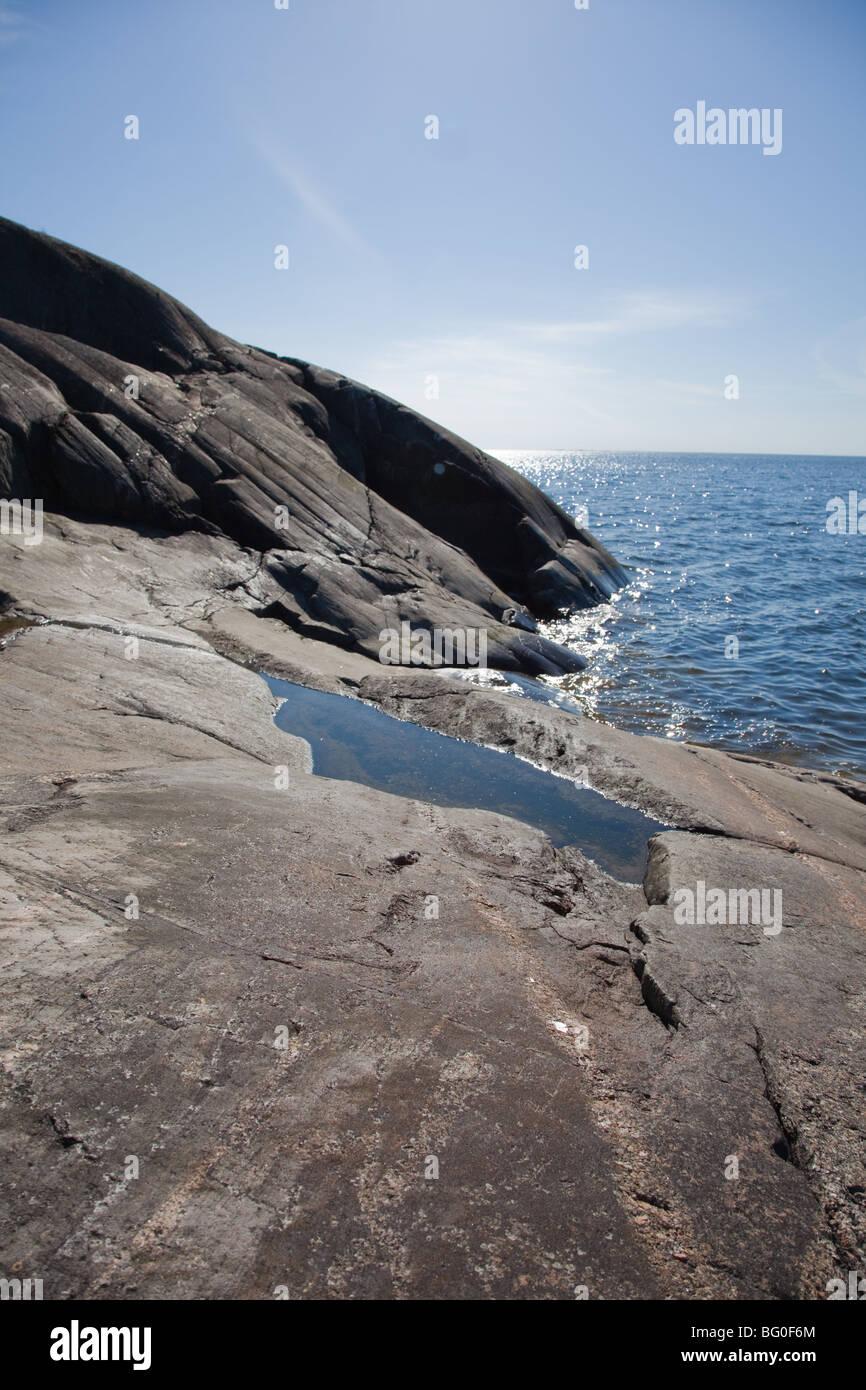 Landscape, baltic sea Stock Photo