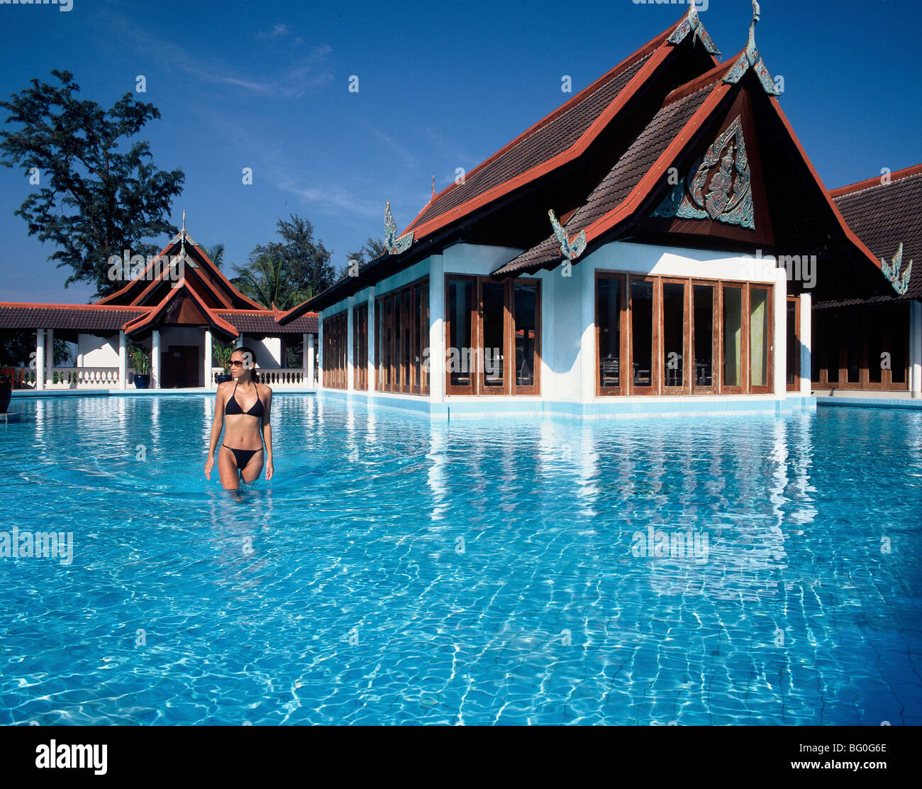 Club Med in Phuket, Thailand, Southeast Asia, Asia - Stock Image