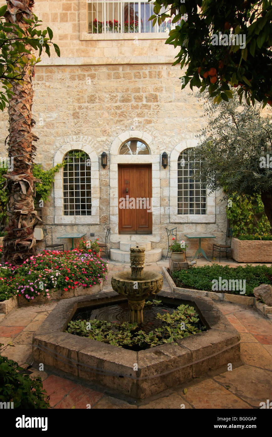 American Colony hotel in East Jerusalem Stock Photo