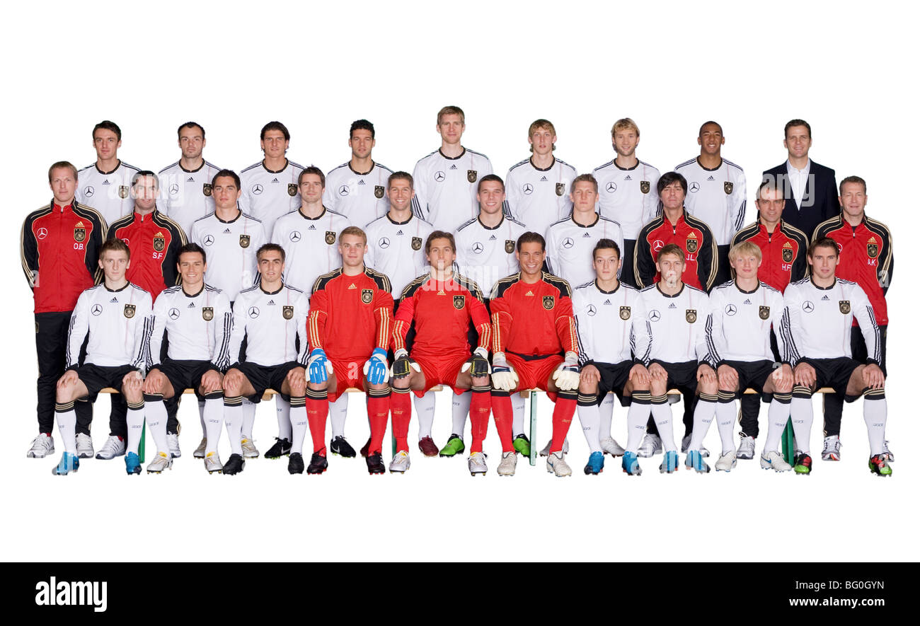 team photo german national football team - Stock Image
