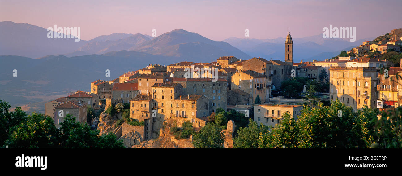 Sartene, Valinco region, Corsica, France, Europe - Stock Image