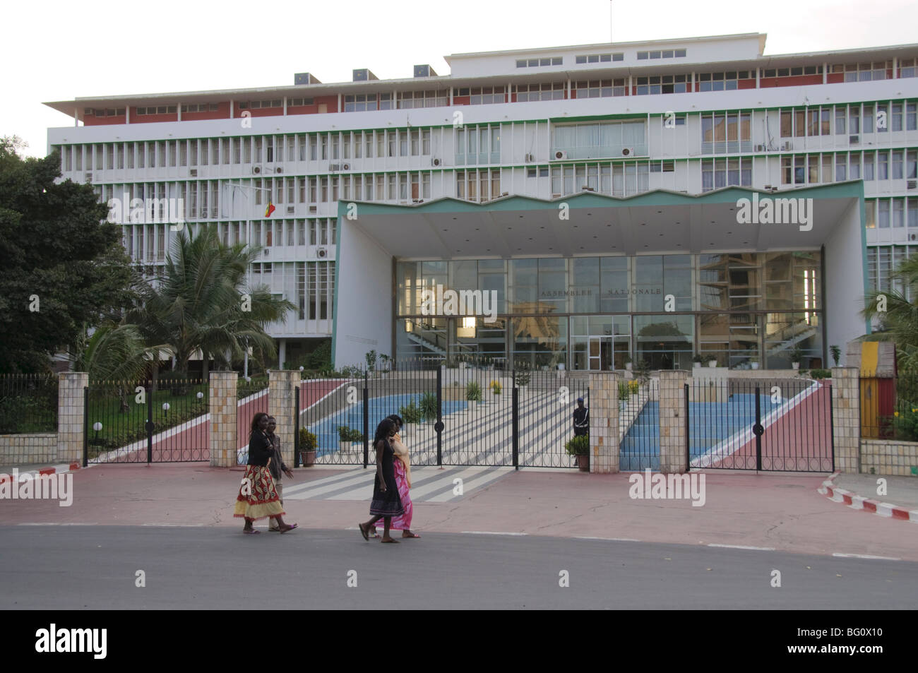 National Assembly, Dakar, Senegal, West Africa, Africa - Stock Image