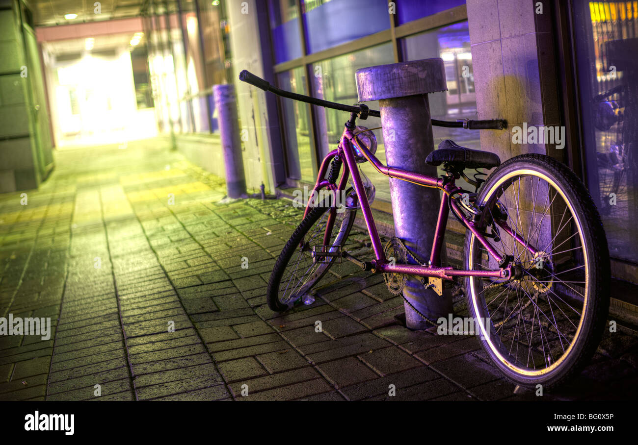 Custom bicycle - Stock Image