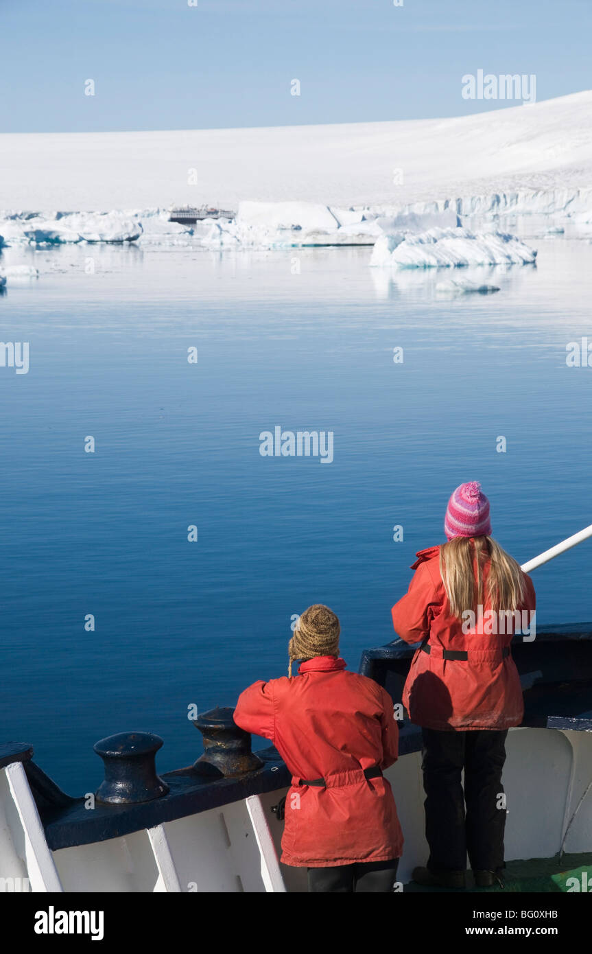 Brown Bluff, Antarctic Peninsula, Antarctica, Polar Regions - Stock Image