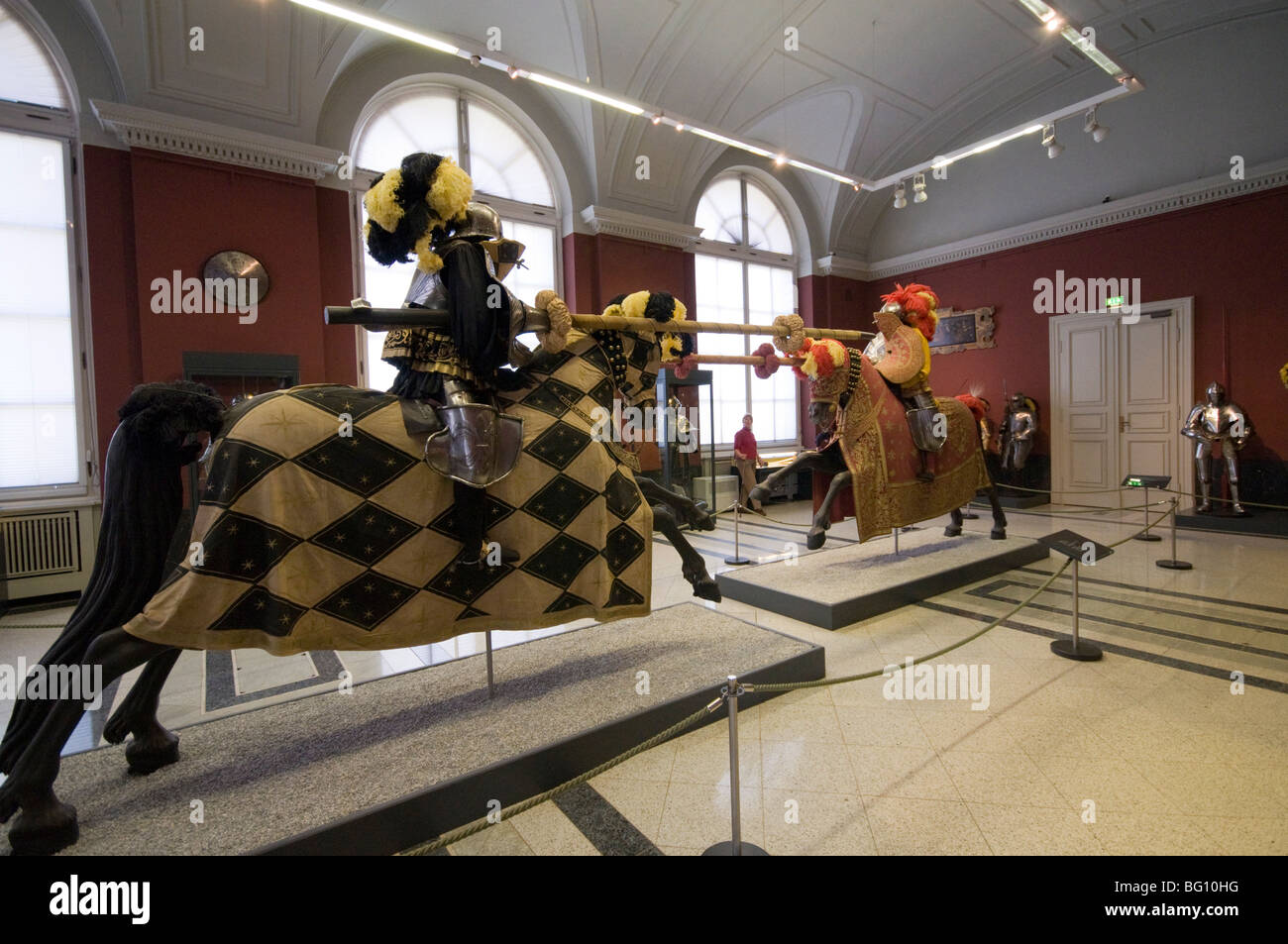 The Armoury, Zwinger, Dresden, Saxony, Germany, Europe - Stock Image