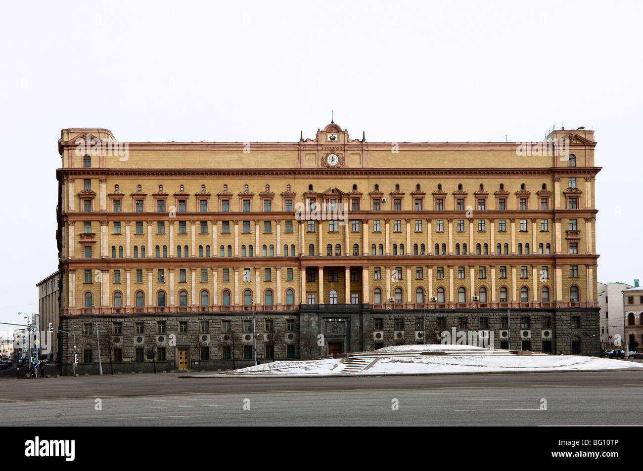 KGB Building, Lubyankskaya Square, Moscow, Russia, Europe - Stock Image