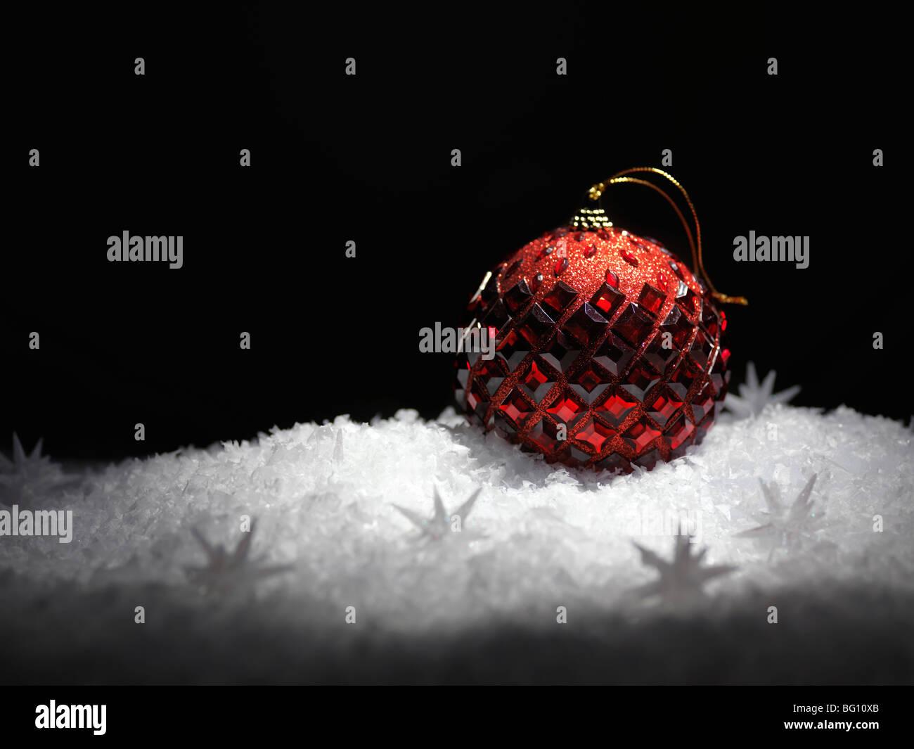 Christmas decoration artistic still life background Stock Photo