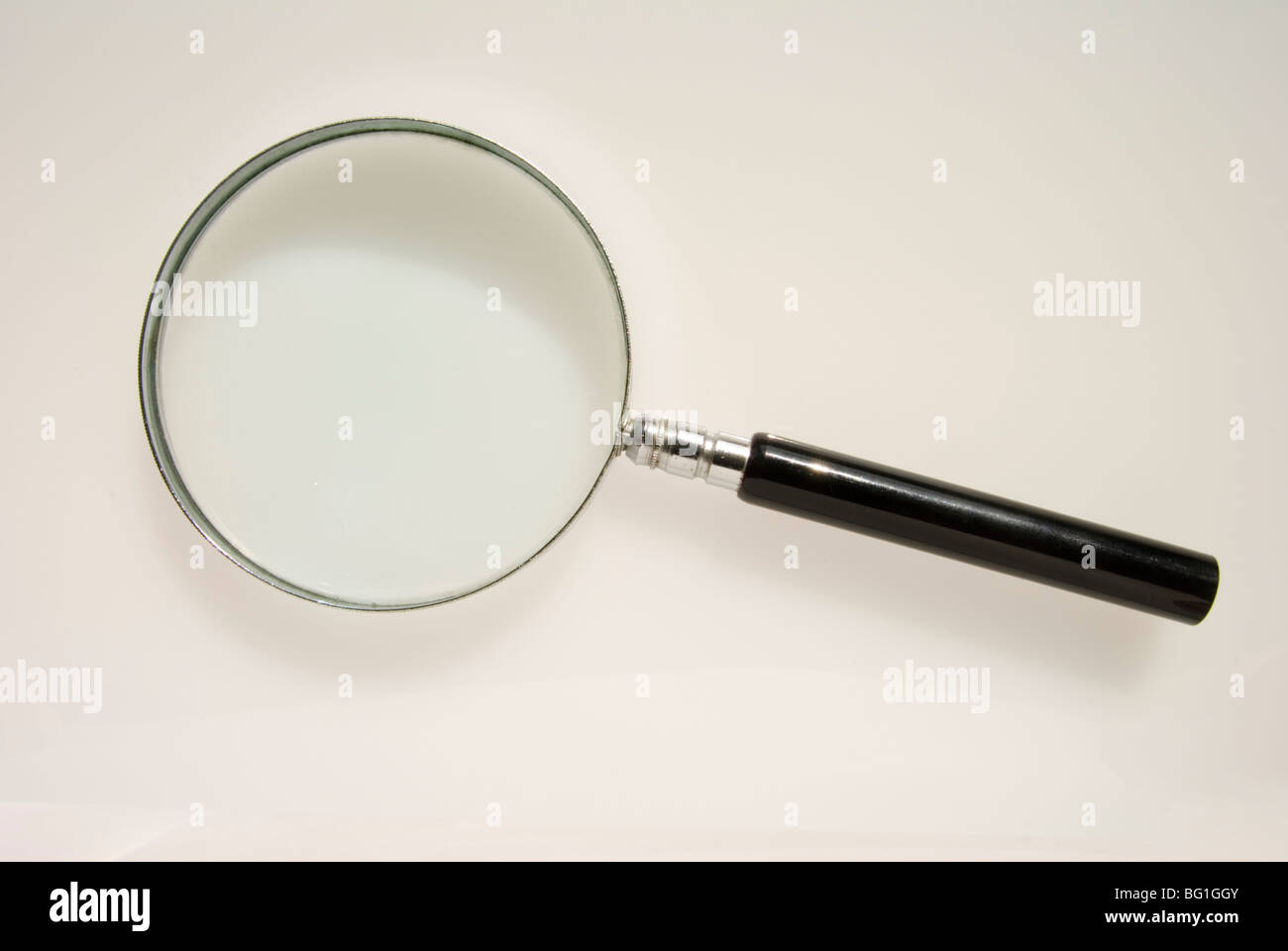 Magnifying glass - Stock Image
