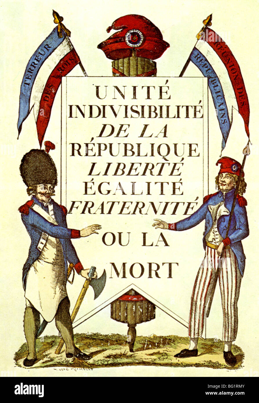 the french revolution adopted liberty equality and fraternity Of liberty, equality and fraternity, the last is the biggest challenge it is not just an idea but a way of life with deep roots in the french tradition it is equally familiar in islam.
