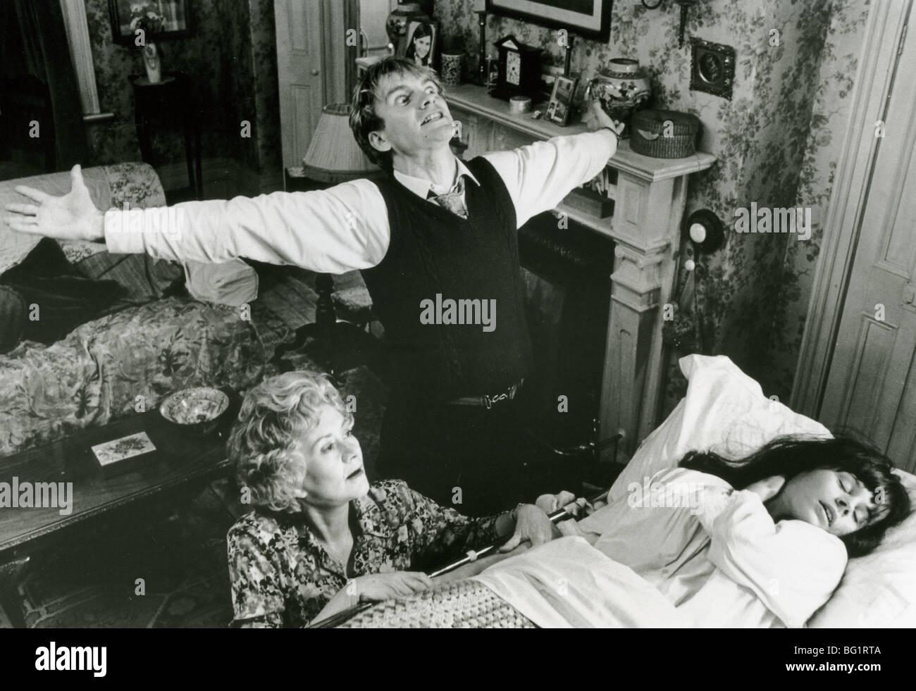 BRIMSTONE AND TREACLE  - 1962 Namara film with from left: Joan Plowright, Sting and Suzanna Hamilton - Stock Image