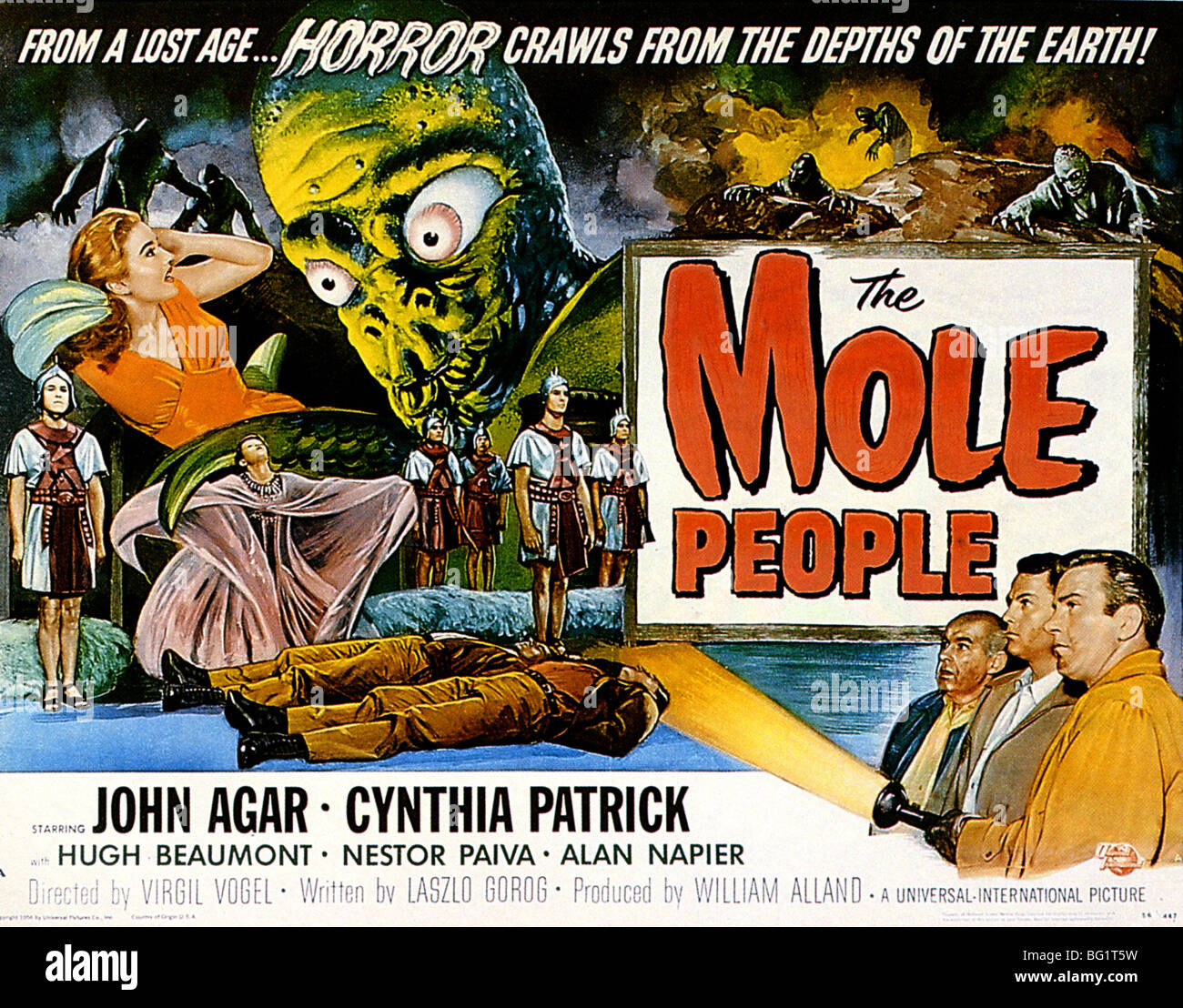 Movie Poster The Mole People 1956