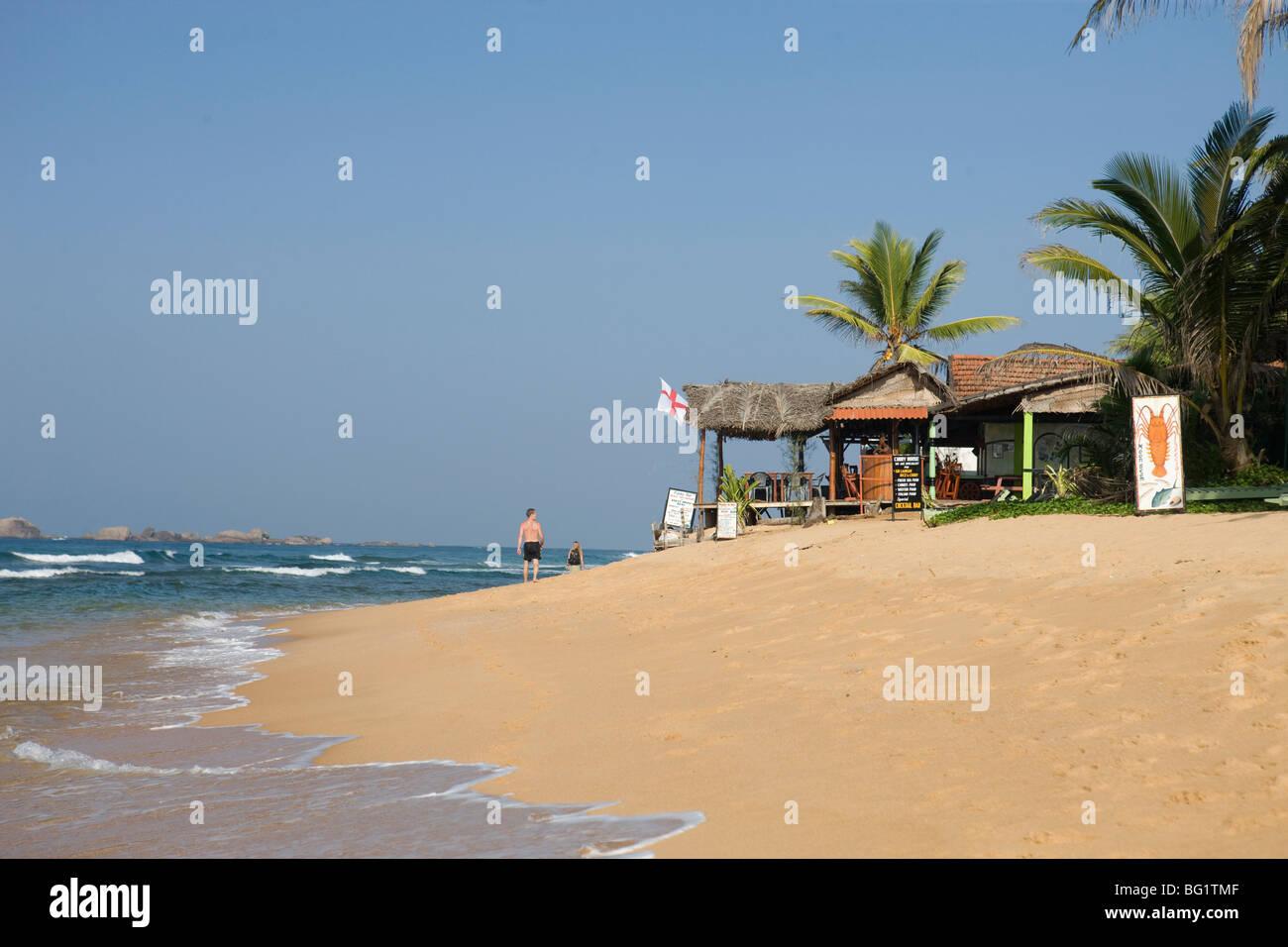 Hikkaduwa Beach, Sri Lanka Stock Photo