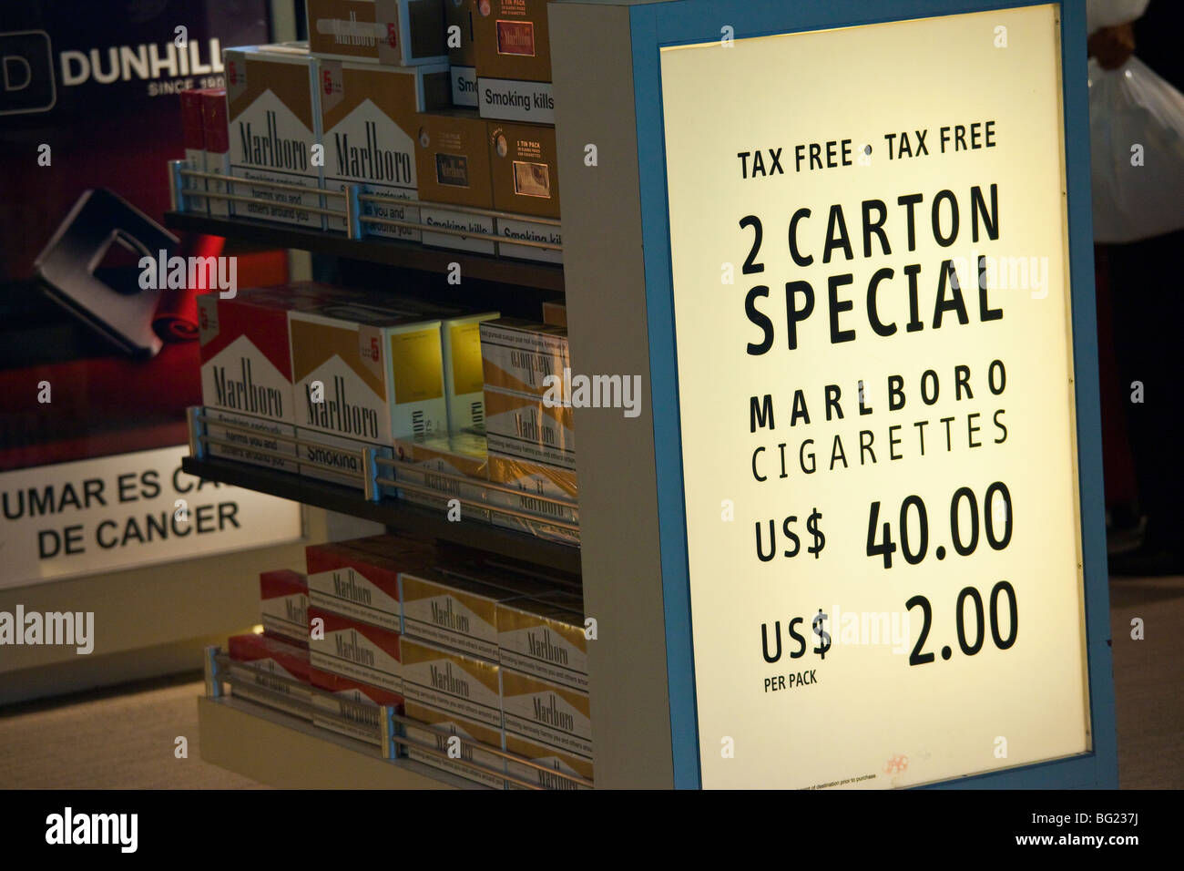 Cheap cigarettes from New Zealand