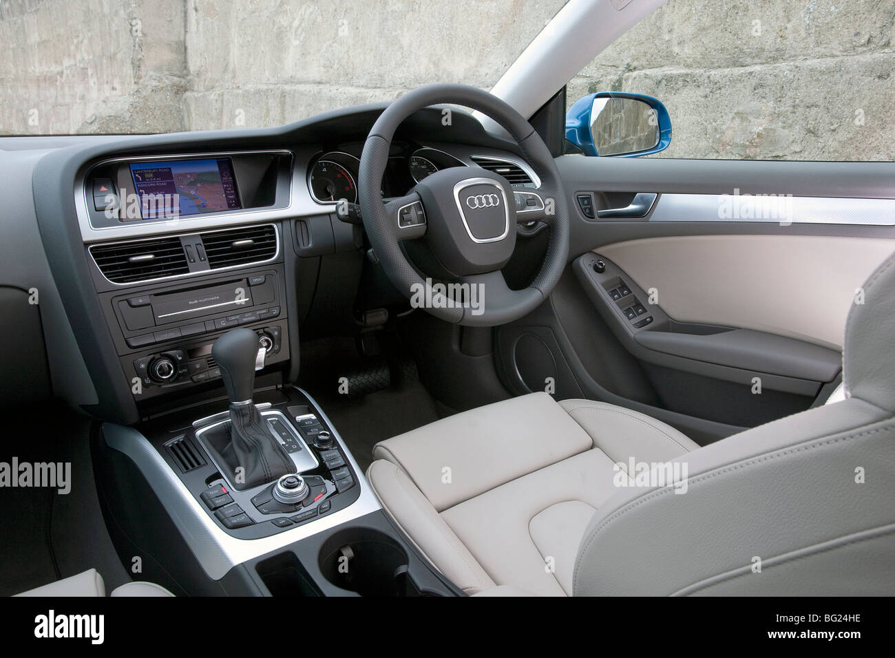 Audi Interior High Resolution Stock Photography And Images Alamy