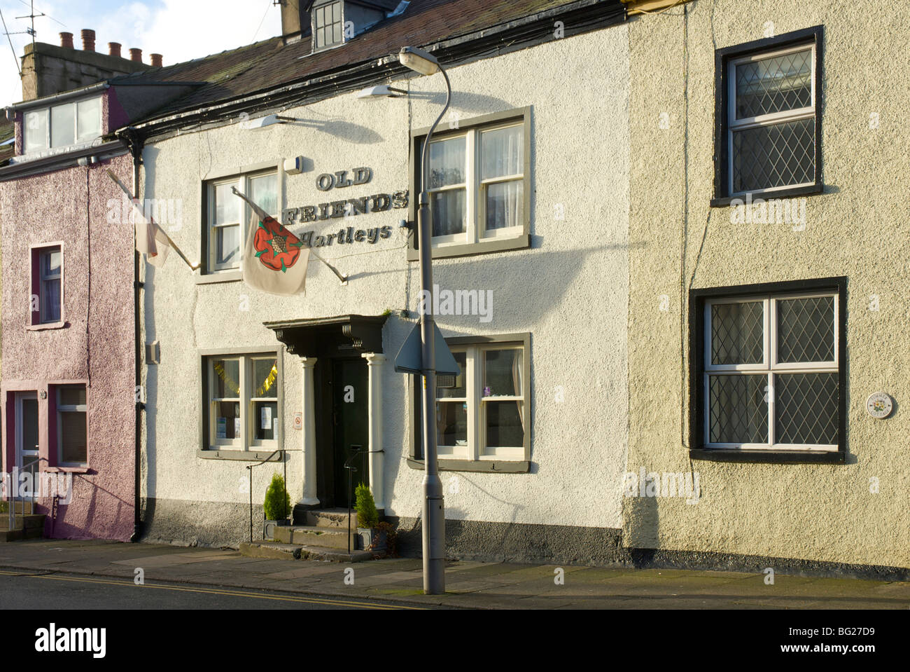 The Old Friends pub, Soutergate, Ulverston, Cumbria, England UK - Stock Image
