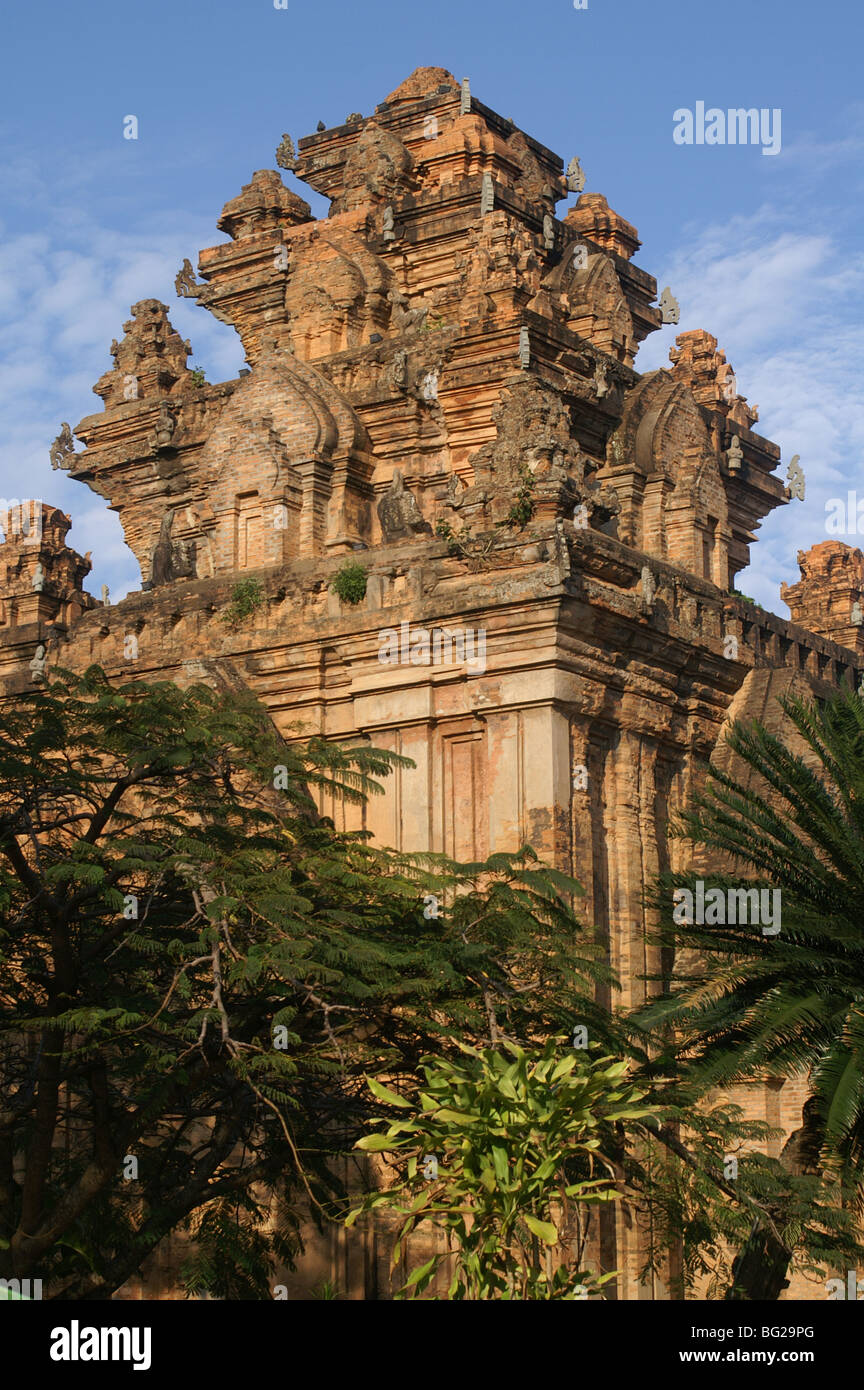 Po Nagar Cham Towers, Nha Trang, Vietnam - Stock Image