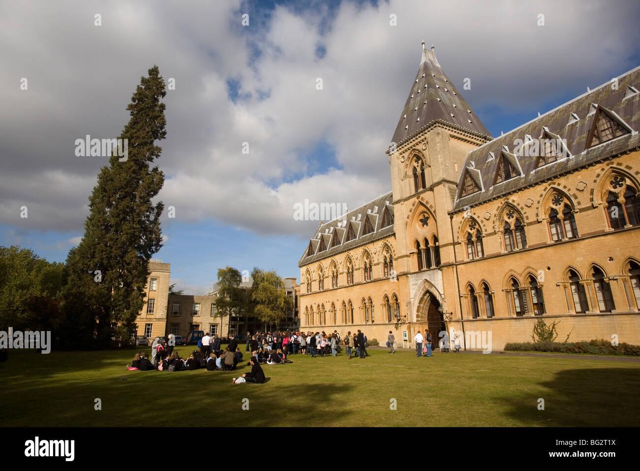 Pitt Rivers Museum, Oxford, England, UK - Stock Image