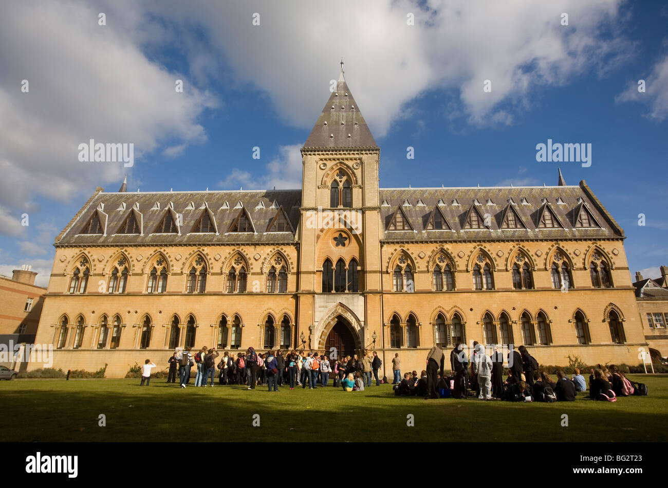 Pitt Rivers Museum, Oxford, England, UK - Stock Image