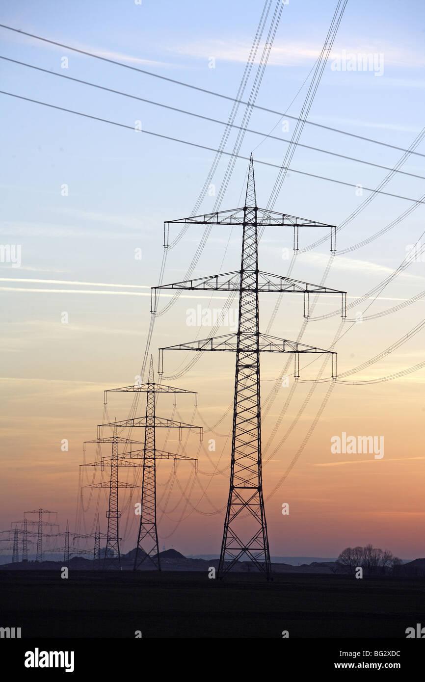 Power plants Stock Photo