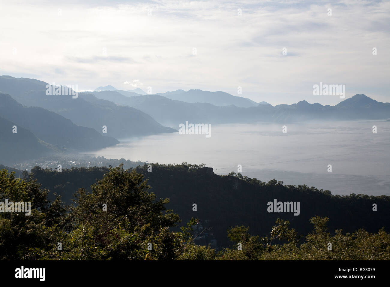 Panajachel Lake Atitlan Guatemala. - Stock Image