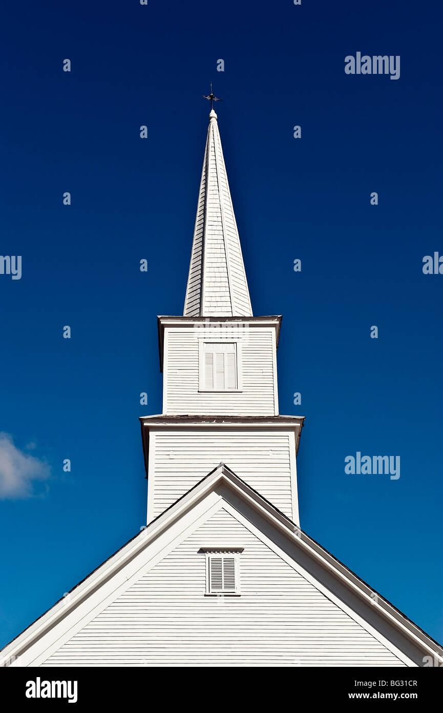 Church, Andover, Vermont, USA - Stock Image