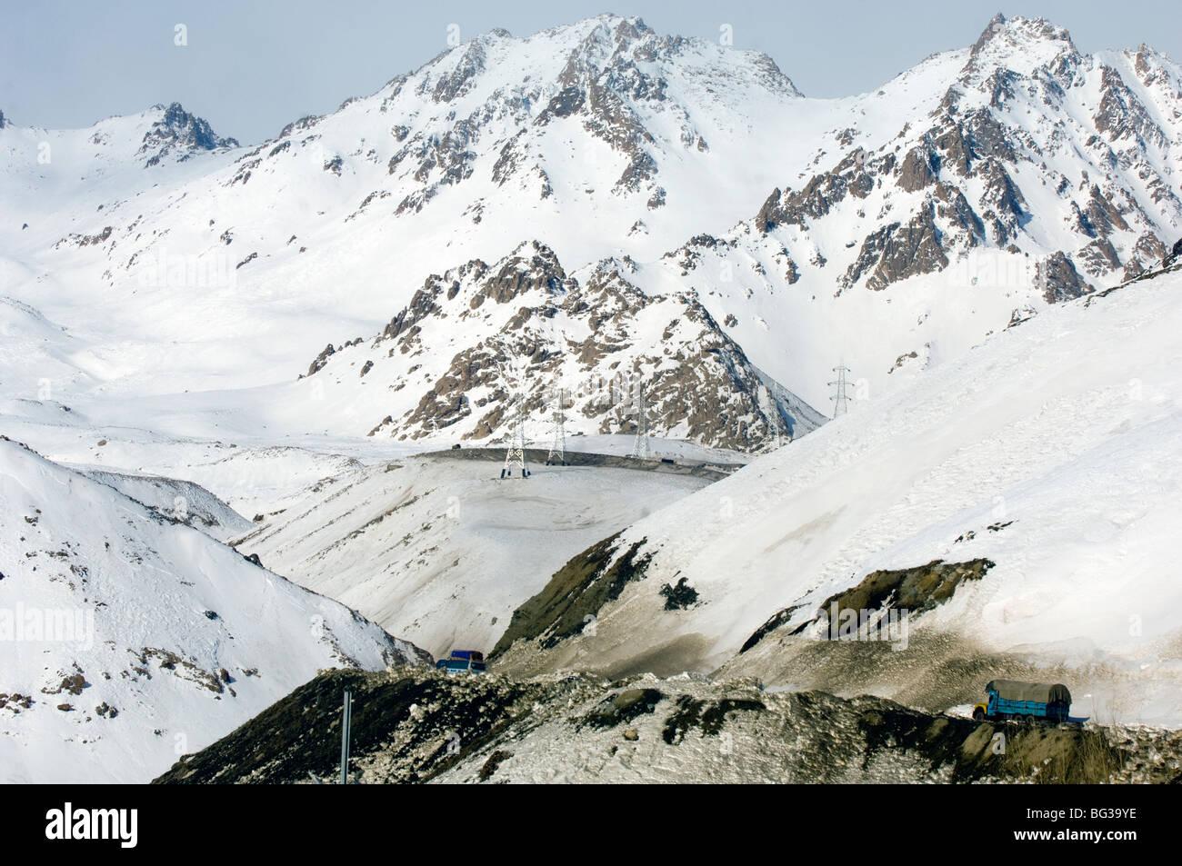 Salang Pass Hindu Kush, Afghanistan - Stock Image