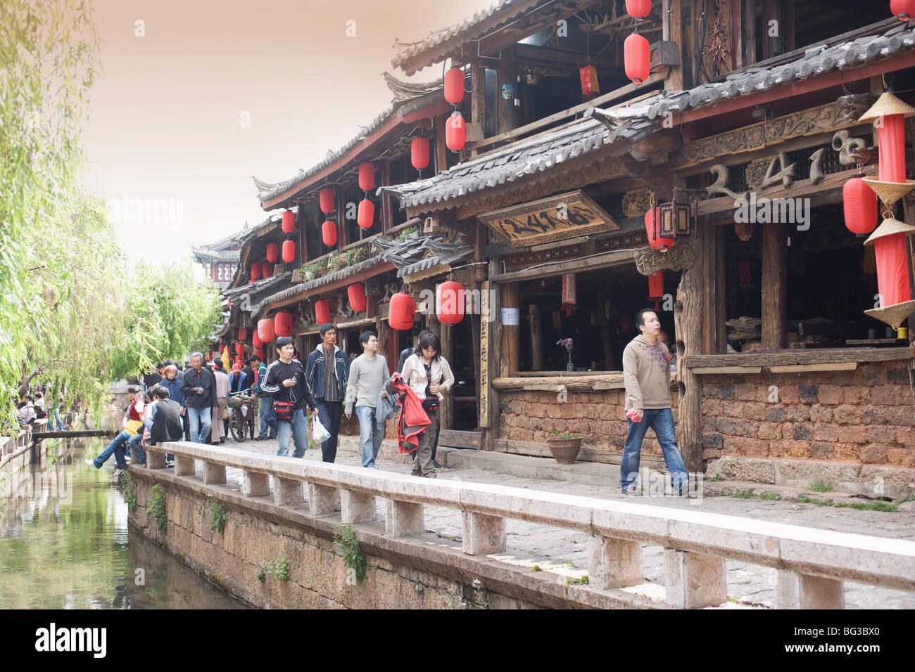 Lijiang, Yunnan Province, China, Asia - Stock Image