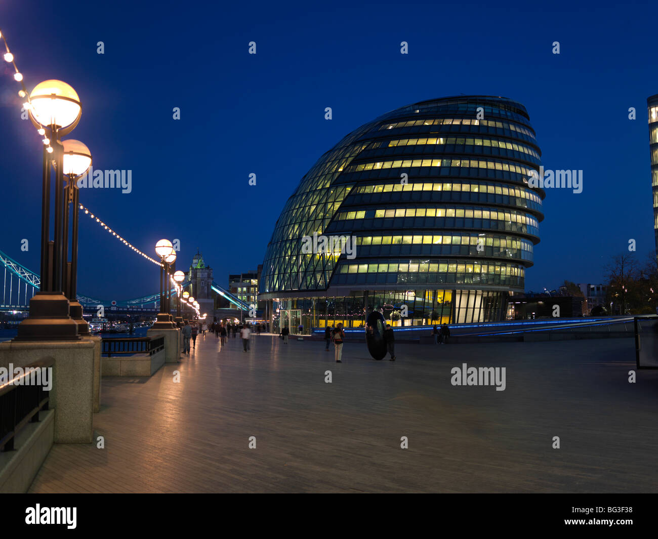 City Hall. The London Assembly Building. - Stock Image