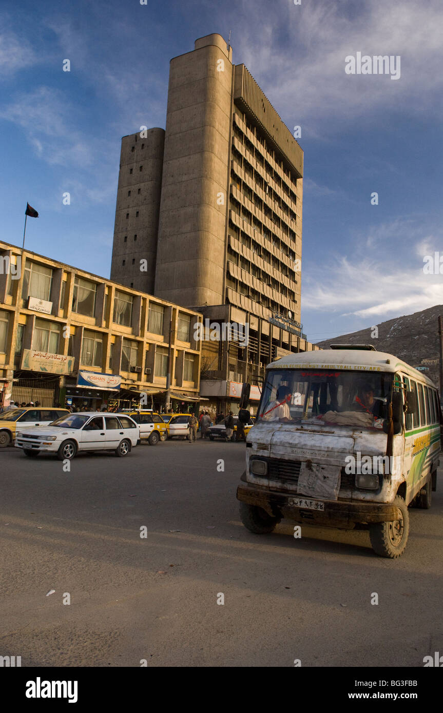 Kabul city, Afghanistan. - Stock Image