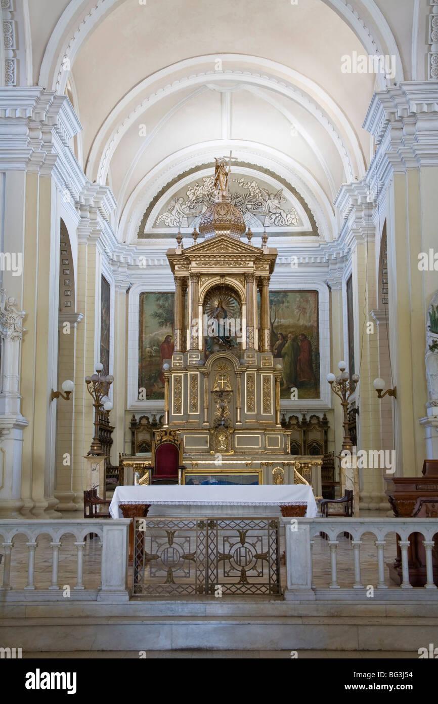 Basilica Cathedral de La Asuncion, City of Leon, Department of Leon, Nicaragua, Central America - Stock Image