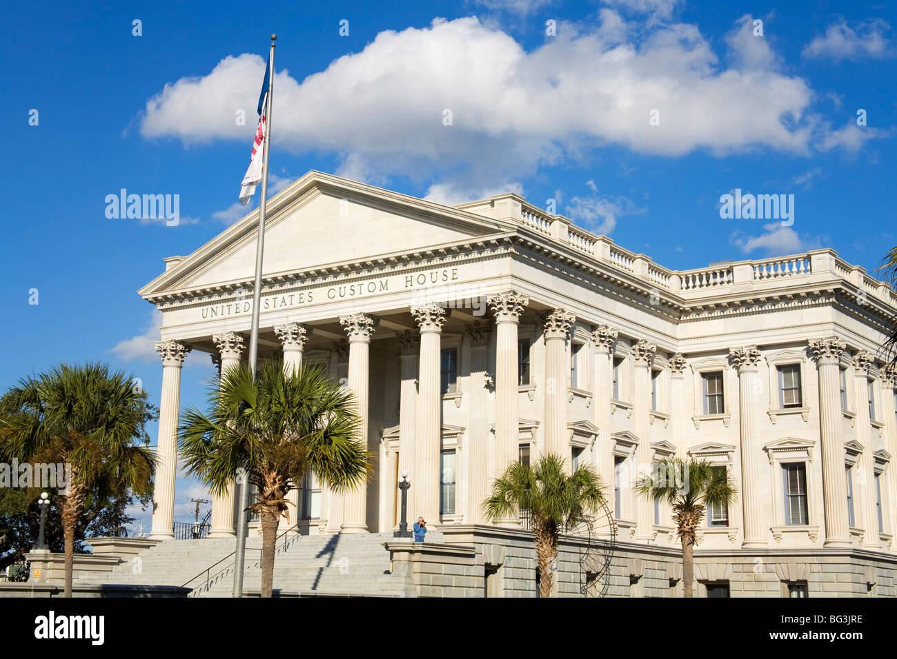 United States Custom House, Charleston, South Carolina, United States of America, North America - Stock Image