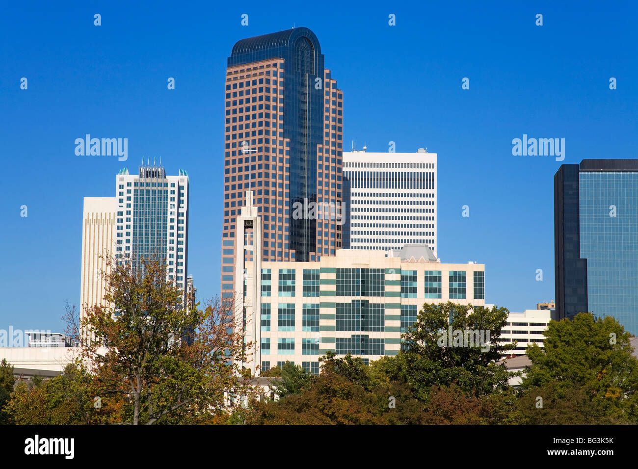 Marshall Park, Charlotte, North Carolina, United States of America, North America - Stock Image
