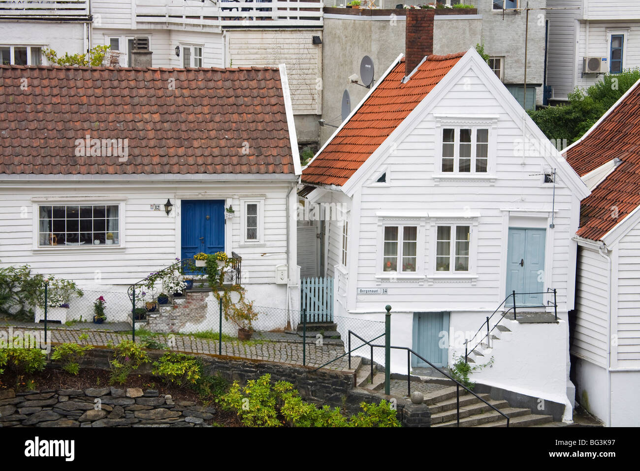 Gamble (Old) Stavanger, Stavanger City, Ragoland District, Norway, Scandinavia, Europe - Stock Image