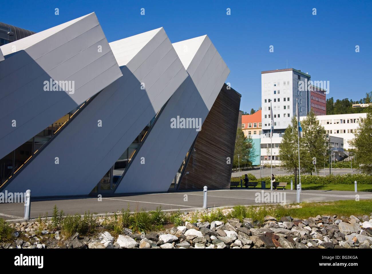 Polaria Museum, Tromso City, Troms County, Norway, Scandinavia, Europe Stock Photo