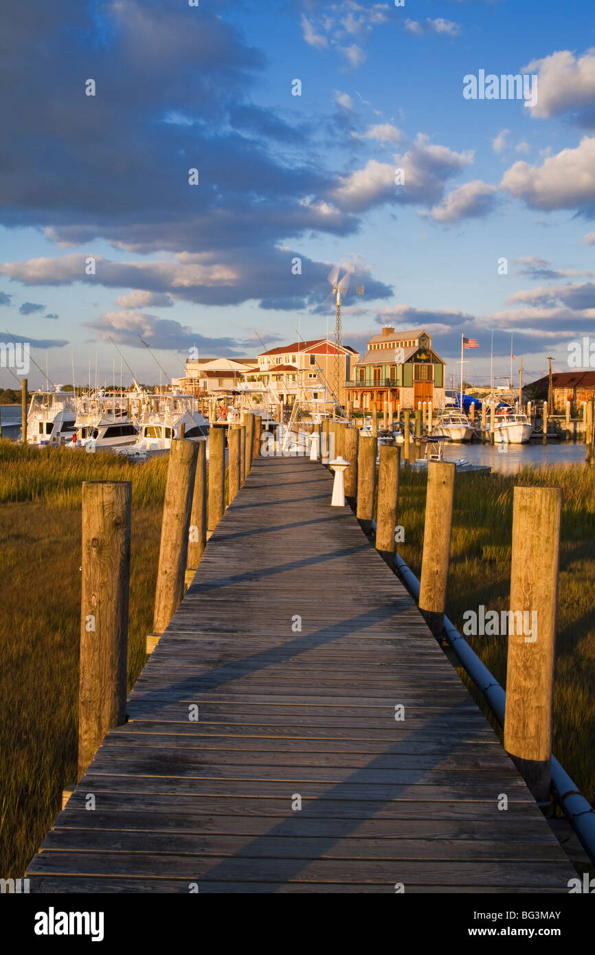 Cape May Harbor, Cape May County, New Jersey, United States of America, North America - Stock Image