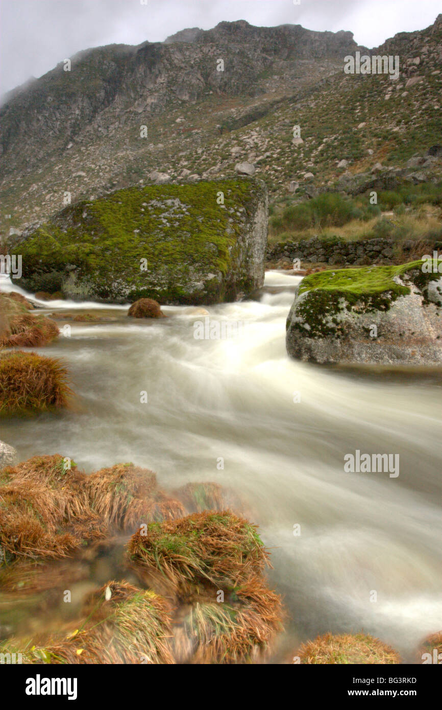 Mountain river - Stock Image