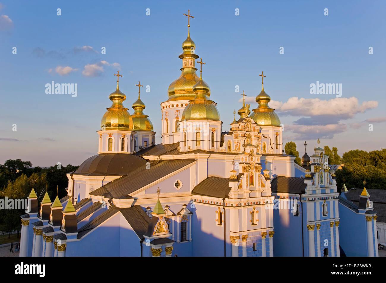 St. Michael's Monastery, Kiev, Ukraine, Europe - Stock Image